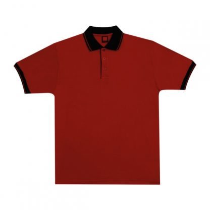 APP0025 Single Jersey T-shirt - Red/Black
