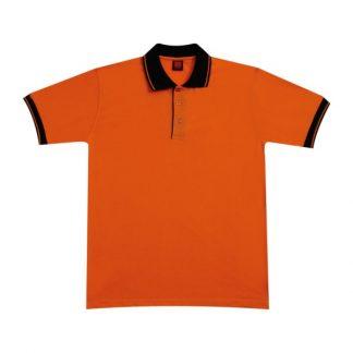 APP0025 Single Jersey T-shirt - Orange/Black