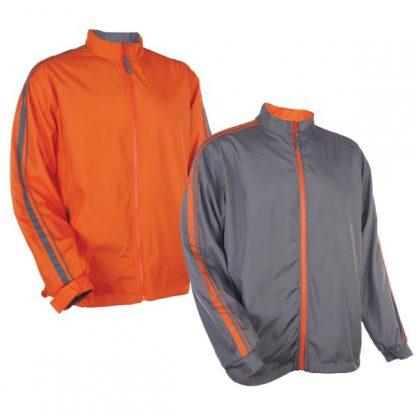 APP0034 Reversible Windbreaker - Orange (P/Grey)