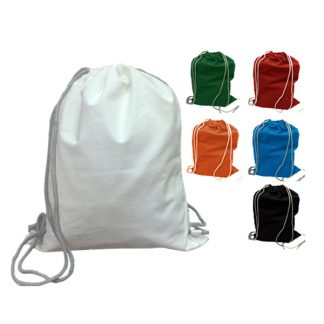 BG0725 - 10oz Canvas Drawstring Bag
