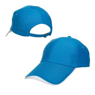 CAP0035 Baseball 6-Panel Cap - Celcom Blue/White