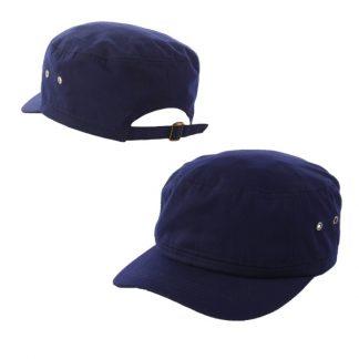 CAP0042 Cotton Cap - Navy