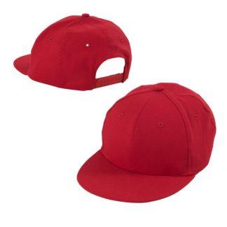 CAP0043 Stylish Cotton Cap - Red