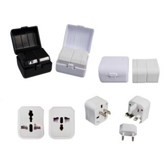 IT0355 World Travel Adaptor with Plastic Box