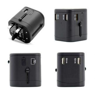 IT0552 Travel Adaptor (3 USB Port + 1 Type-C Port)