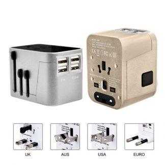 IT0558 Travel Adaptor with 4 USB Port