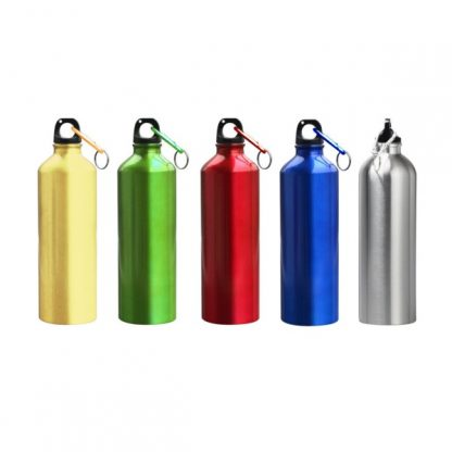 MGS0193 Aluminium Bottle with Carabiner (Metallic Colour) - 500ml