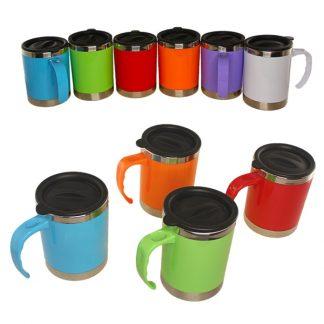 MGS0195 Brighton Mug in Solid Color - 16oz