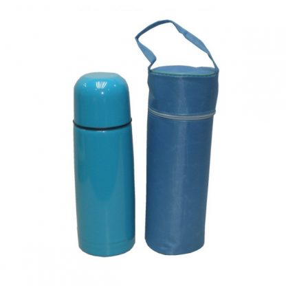 MGS0280 Stainless Steel Vacuum Flask with PU Pouch - 350ml