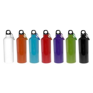 MGS0302 500ml Aluminium Bottle with Carabiner (Solid Colour)