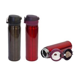 MGS0504 Vacuum Flask with PU Pouch – 500ml