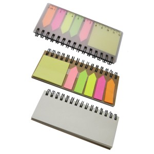 STA0556 Notebook with Memo Pad & Ruler
