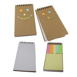 STA0558 Notebook with Memopad
