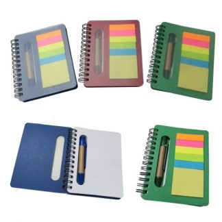 STA0591 Notebook with Memo Pad & Ballpen