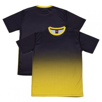 APP0118 Quick Dry Sublimation Printing Round Neck T-shirt - Navy/Yellow