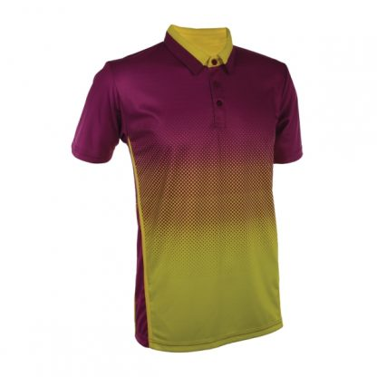 APP0119 Quick Dry Sublimation Printing Polo T-shirt