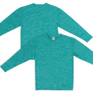 APP0139 Quick Dry Round Neck Long Sleeve T-shirt - Emerald