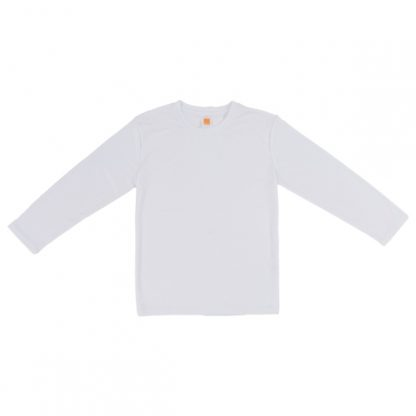 APP0144 Quick Dry Round Neck Long Sleeve T-shirt - White