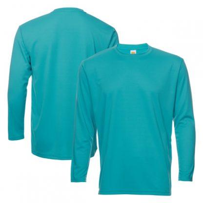 APP0144 Quick Dry Round Neck Long Sleeve T-shirt - Emerald