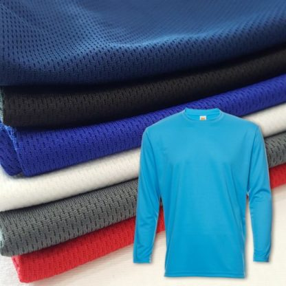 APP0144 Quick Dry Round Neck Long Sleeve T-shirt
