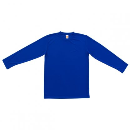 APP0144 Quick Dry Round Neck Long Sleeve T-shirt - Royal