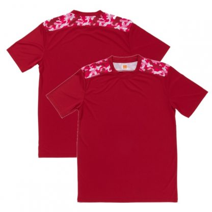 APP0145 Quick Dry Sublimation Printing Round Neck T-shirt - Red