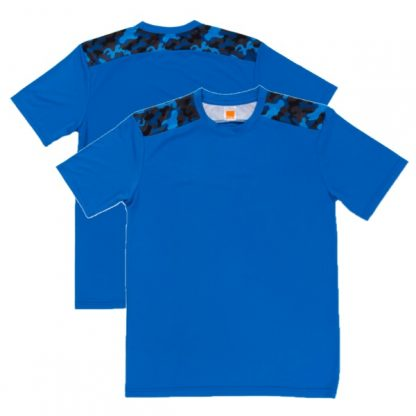 APP0145 Quick Dry Sublimation Printing Round Neck T-shirt - Royal