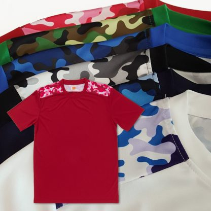 APP0145 Quick Dry Sublimation Printing Round Neck T-shirt