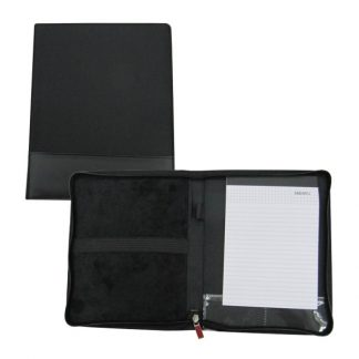 ORN0164 A5 Size Zipper Portfolio with Notebook