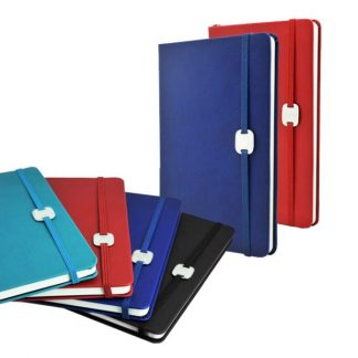 ORN0200 A5 Hard Cover Notebook with Metal Plate