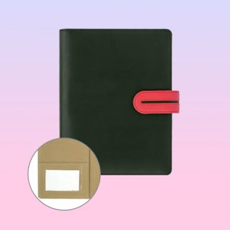 ORN0229 Professional Portfolio Textured Italy PU Cover with Magnetic Flap