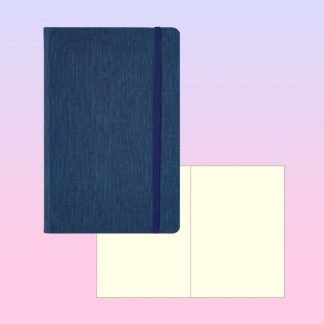 ORN0247 Slim Moto Note Book with Blank Pages – A5 Textured PU Cover