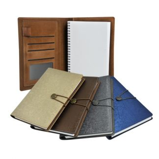ORN0254 A5 PU Notebook with Closure
