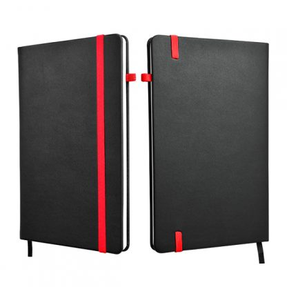 ORN0258 A5 Hard Cover Notebook - Red