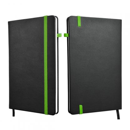 ORN0258 A5 Hard Cover Notebook - Green