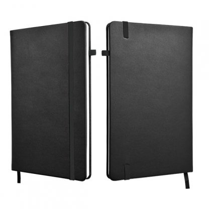 ORN0258 A5 Hard Cover Notebook - Black