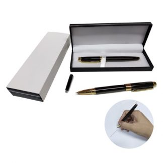PEN0566 Metal Fountain Pen with Gold Clip