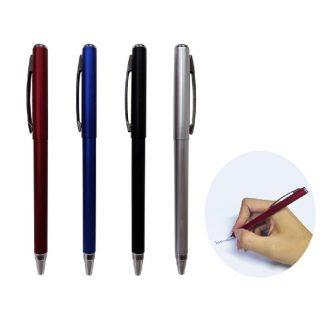 PEN0582 Metallic Plastic Pen with Blue Ink