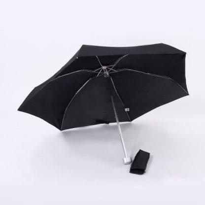UMB0053 21″ Slim Foldable Umbrella - Black