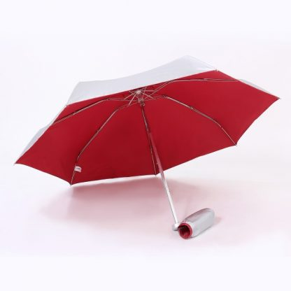 UMB0059 - 21″ Lightweight Foldable Umbrella - Red