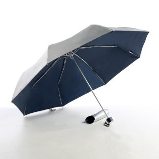 UMB0068 – 21″ 3 Fold Windproof Umbrella - Navy