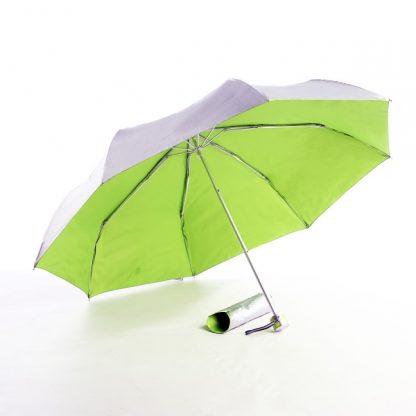 UMB0068 – 21″ 3 Fold Windproof Umbrella - Lime Green