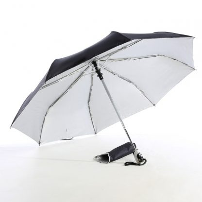 "UMB0069 - 21"" Auto Open and Close Foldable UV Umbrella - Black"