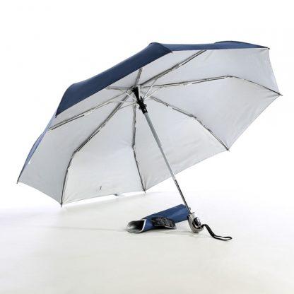 "UMB0069 - 21"" Auto Open and Close Foldable UV Umbrella - Navy"