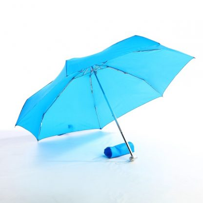 UMB0095 – 21″ Foldable Umbrella - Light Blue