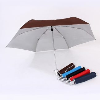 UMB0097 – 21″ Auto Open and Close Foldable UV Umbrella