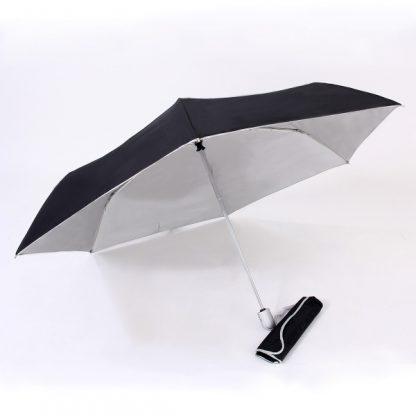 UMB0097 – 21″ Auto Open and Close Foldable UV Umbrella - Black