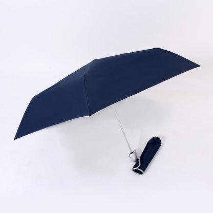UMB0097 – 21″ Auto Open and Close Foldable UV Umbrella - Navy