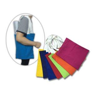 BG0757 Cotton Canvas Bag with White Handle