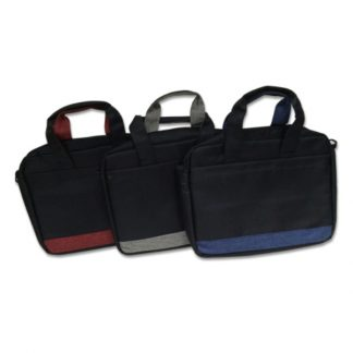 BG0821 Laptop Bag with 2-Zip Compartments